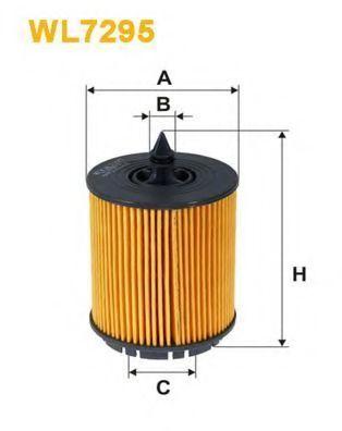 Фильтр масляный WIX WL7295