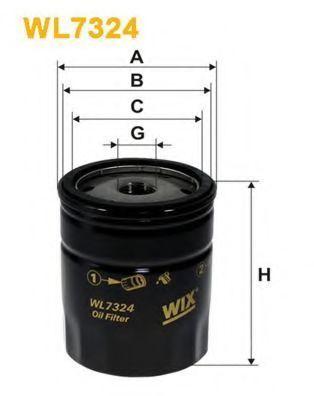 Фильтр масляный WIX WL7324