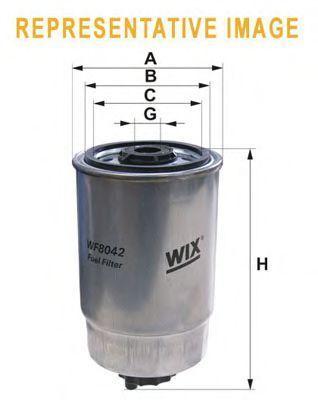 Фильтр топливный WIX WF8404