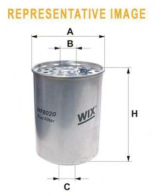 Фильтр топливный WIX WF8018