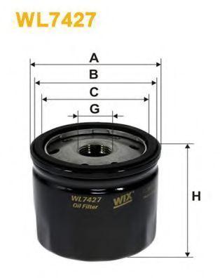 Фильтр масляный WIX WL7427