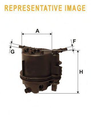 Фильтр топливный WIX WF8397
