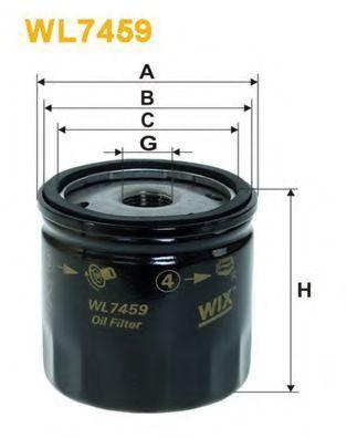 Фильтр масляный WIX WL7459