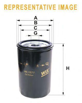 Фильтр масляный WIX WL7503