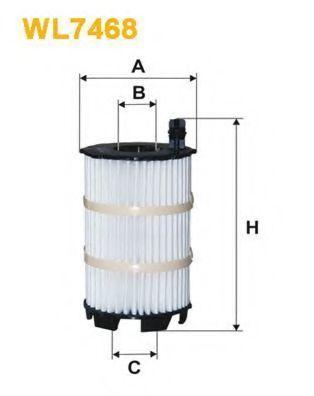 Фильтр масляный WIX WL7468