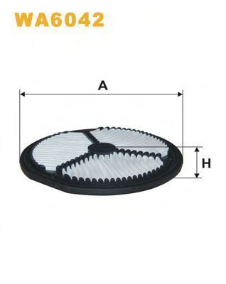 Фильтр воздушный WIX WA6042
