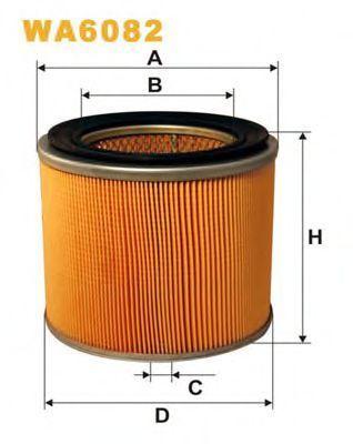 Фильтр воздушный WIX WA6082
