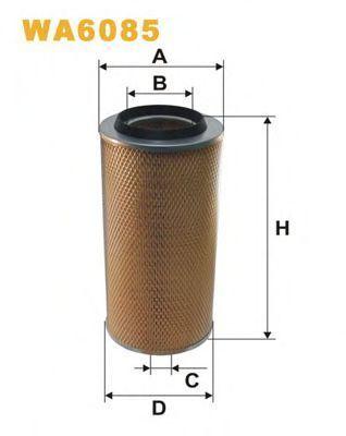 Фильтр воздушный WIX WA6085