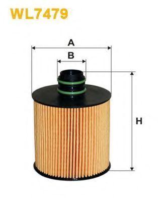 Фильтр масляный WIX WL7479