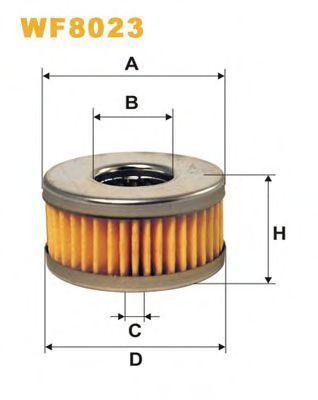 Фильтр топливный ГБО WIX WF8023