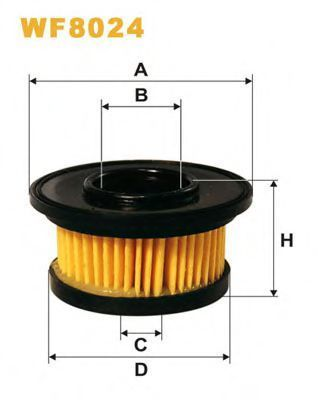 Фильтр топливный ГБО WIX WF8024