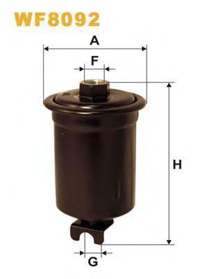 Фильтр топливный WIX WF8092