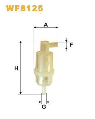 Фильтр топливный WIX W F8125