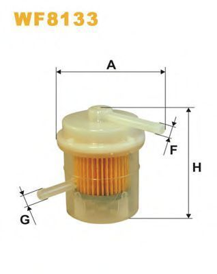 Фильтр топливный WIX WF8133