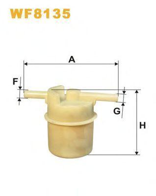 Фильтр топливный WIX WF8135