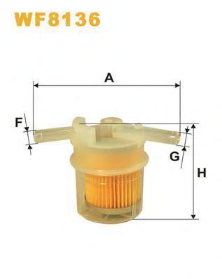 Фильтр топливный WIX WF8136