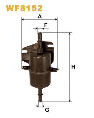 Фильтр топливный WIX W F8152