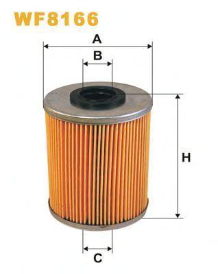 Фильтр топливный WIX WF8166