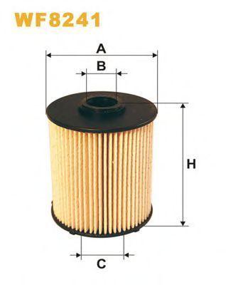 Фильтр топливный WIX WF8241