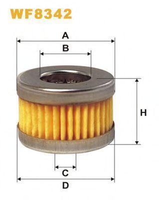 Фильтр топливный ГБО WIX WF8342