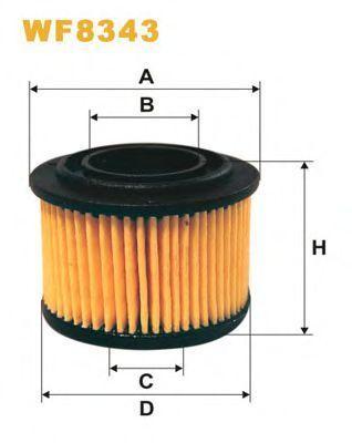 Фильтр топливный ГБО WIX WF8343