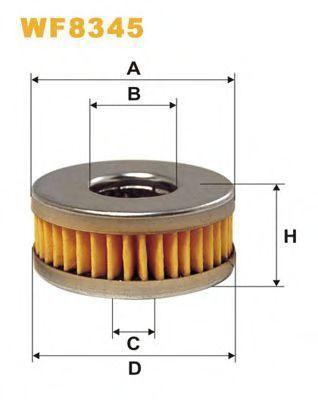 Фильтр топливный ГБО WIX WF8345