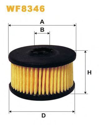 Фильтр топливный ГБО WIX WF8346