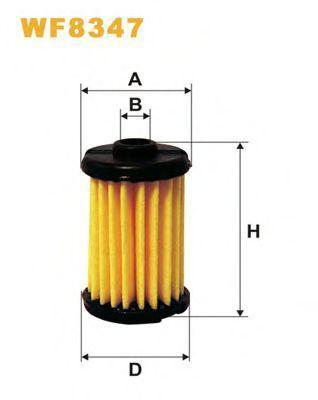 Фильтр топливный ГБО WIX WF8347