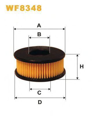 Фильтр топливный ГБО WIX WF8348