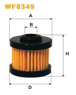 Фильтр топливный ГБО WIX WF8349