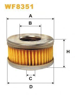 Фильтр топливный ГБО WIX WF8351
