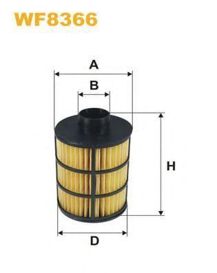 Фильтр топливный WIX WF8366