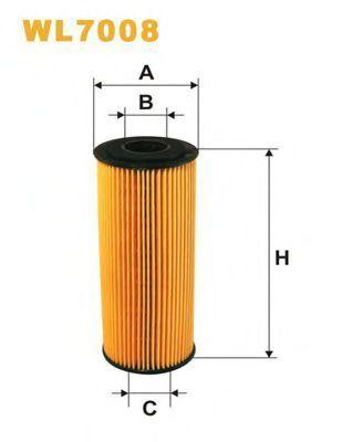 Фильтр масляный WIX WL7008