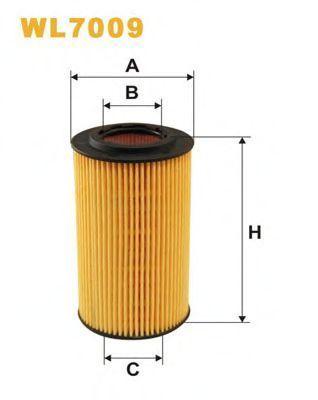 Фильтр масляный WIX WL7009