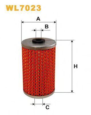 Фильтр масляный WIX WL7023