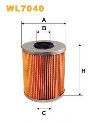 Фильтр масляный WIX WL7040