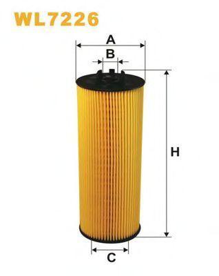 Фильтр масляный WIX WL7226