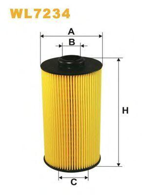 Фильтр масляный WIX WL7234