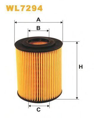 Фильтр масляный WIX WL7294