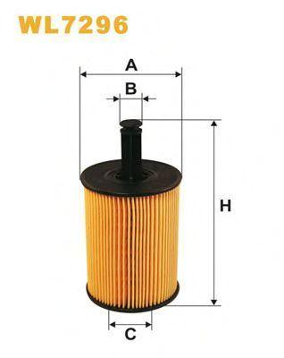 Фильтр масляный WIX WL7296