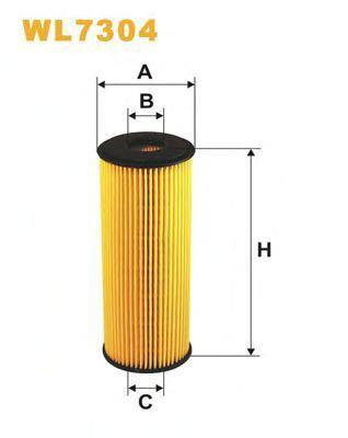 Фильтр масляный WIX WL7304