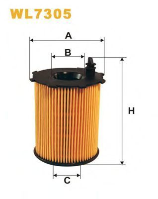 Фильтр масляный WIX WL7305