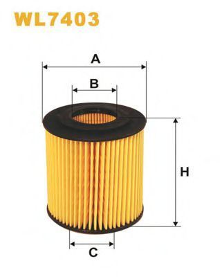 Фильтр масляный WIX WL7403