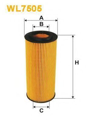 Фильтр масляный WIX WL7505