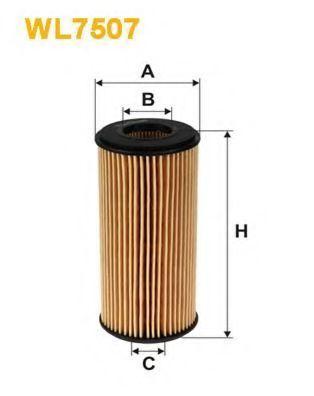 Фильтр масляный WIX WL7507