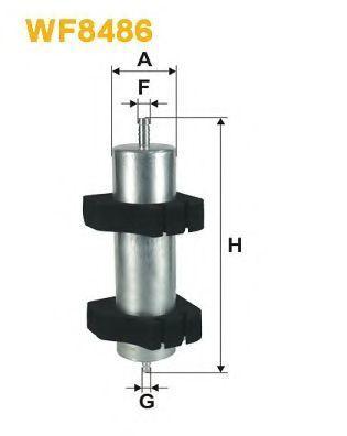 Фильтр топливный WIX WF8486