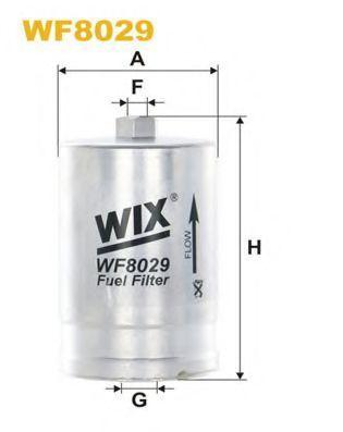 Фильтр топливный WIX WF8029