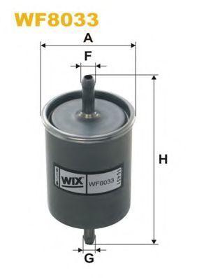 Фильтр топливный WIX WF8033