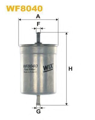 Фильтр топливный WIX WF8040
