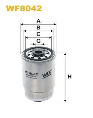 Фильтр топливный WIX WF8042